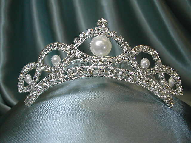 "1.5"" by 3.5"" wide Tiara"